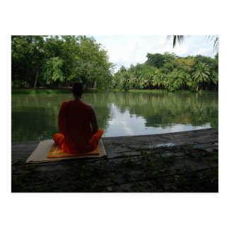 Meditation by the Lake Postcard