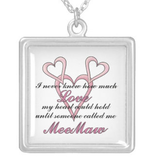 MeeMaw (I Never Knew) Mother's Day Necklace