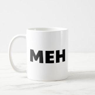 Meh Basic White Mug
