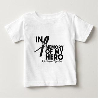 Melanoma Tribute In Memory of My Hero T Shirts