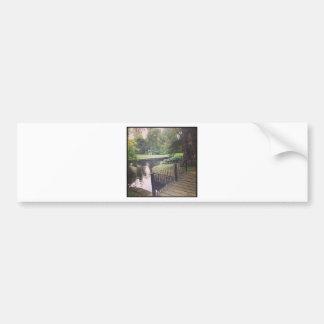 #melbourne #gardens #park bumper sticker
