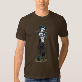 """Melita"" Gothic Tribal Fusion Dancer Angel Top T Shirts"