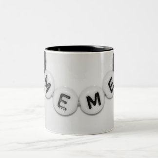 MeMe Cup Two-Tone Mug