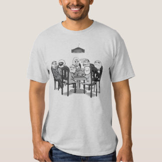 Memes Poker Table with Me Gusta Ok face etc Tshirt