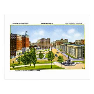 Memorial Square, Nashville, Tennessee Postcard