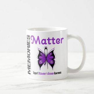Memories Matter Alzheimer's Disease Basic White Mug