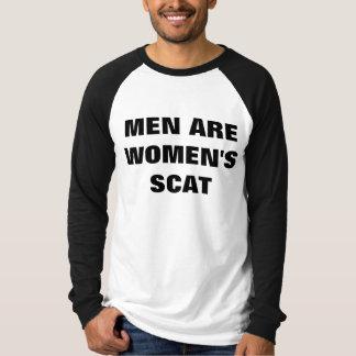 MEN ARE WOMEN'S SCAT TSHIRT