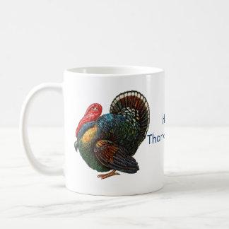 Menorah and Turkey Thanksgivukkah Coffee Mug