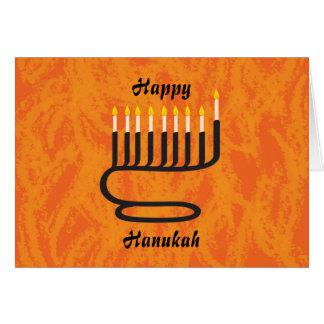 Menorah, Happy, Hanukah Greeting Card