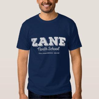 Mens Zane North navy tee