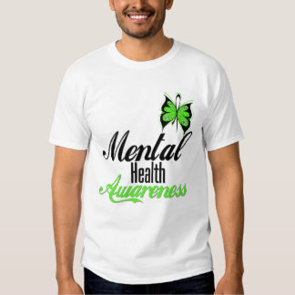 Mental Health Awareness Butterfly Shirts