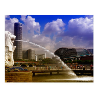 Merlion, Singapore Postcard