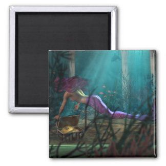 Mermaid and Treasure Magnet