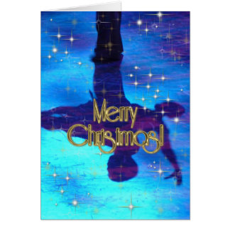 Merry Christmas Dancers PERSONALIZED Greeting Card