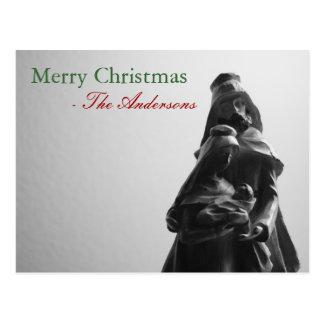Merry Christmas - Family : Custom Postcard