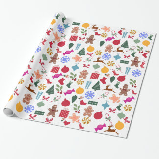 Merry Christmas Print Wrapping Paper