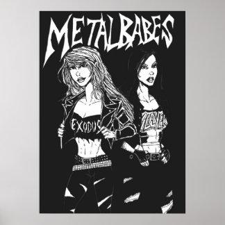 Metal Babes Poster