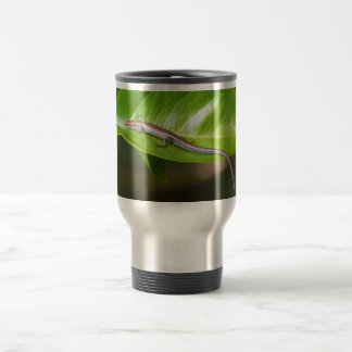 Metallic Cool Skink Niveoscincus Metallicus Stainless Steel Travel Mug