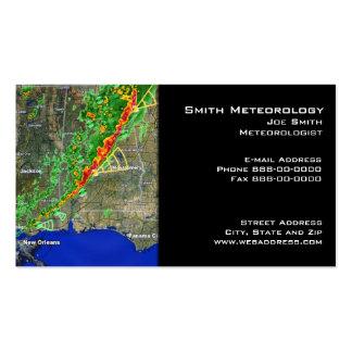 Meteorologist Business Card