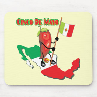 Mexico Cinco de Mayo T-shirts and Gifts Mouse Pad