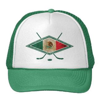 Mexico Ice Hockey Logo Cap