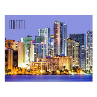 Miami, Florida, U.S.A. Postcard