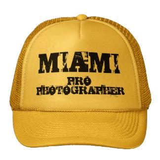 MIAMI PRO PHOTOGRAPHER Hat