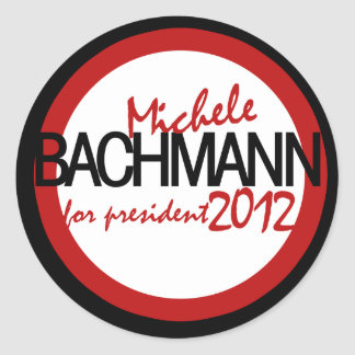 Michele Bachman 2012 Round Sticker