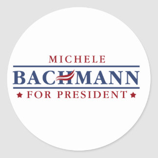 Michele Bachmann 2012 Round Sticker