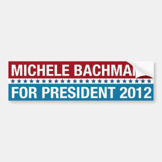 MICHELE BACHMANN | BUMPER STICKER