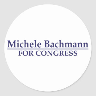 Michele Bachmann for Congress Round Sticker