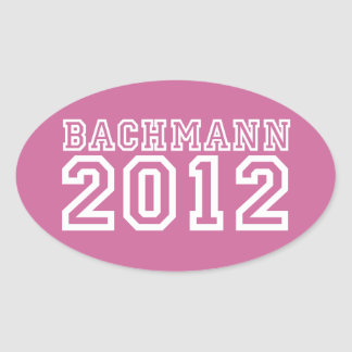 Michele Bachmann Oval Sticker