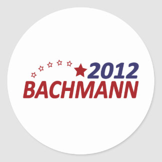Michelle Bachmann 2012 Round Sticker
