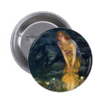 Midsummer Eve with a Fairy Ring 1908 6 Cm Round Badge