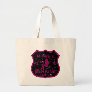 Midwife Diva League Jumbo Tote Bag