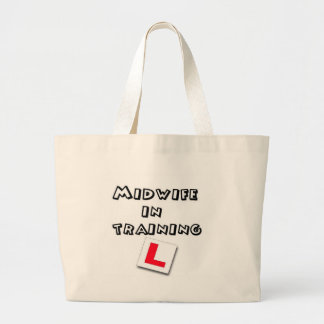 midwife training jumbo tote bag