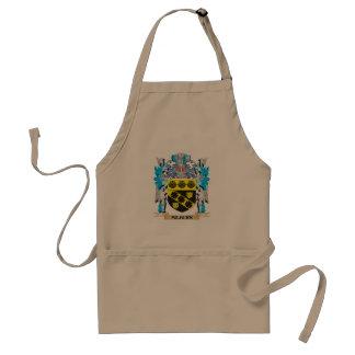 Milburn Coat of Arms - Family Crest Standard Apron