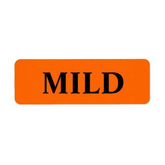 Mild Merchandise Tags Return Address Label