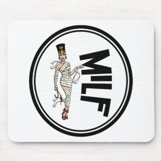 MILF Retro Mummy Pinup Girl Mouse Pad