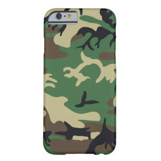 Military Camouflage Barely There iPhone 6 Case