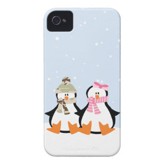Military Penguin Couple iPhone 4 Cases
