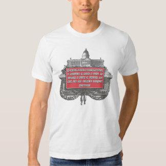 Milton Friedman on Civilization's Achievements Tee Shirts