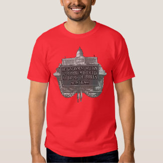 Milton Friedman Quote on Government Solutions T-shirts