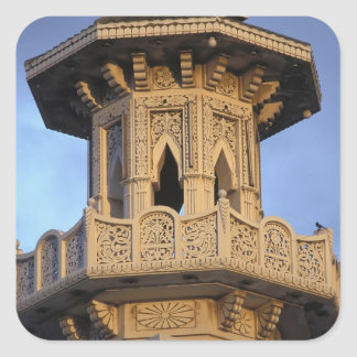 Minaret of the Al-Majarra Mosque, Sharjah, Square Sticker