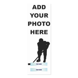 Mini Hockey Card Pack Of Skinny Business Cards