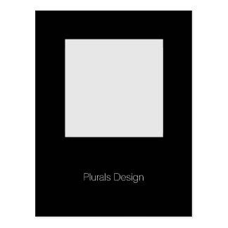 Minimal Design - Postcard