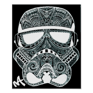 Minky Gas Mask poster