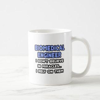 Miracles and Biomedical Engineers Basic White Mug