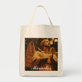 """""""Miracles"""" Reusable Grocery Tote Grocery Tote Bag"""