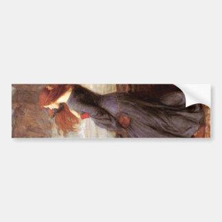 Miranda The Tempest by John William Waterhouse Bumper Sticker